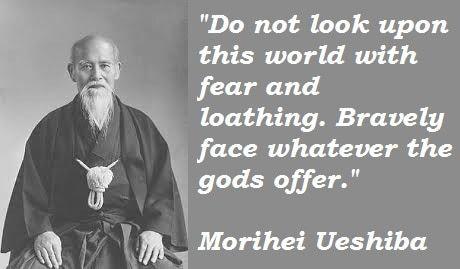 32 Berømte Morihei Ueshiba-citater
