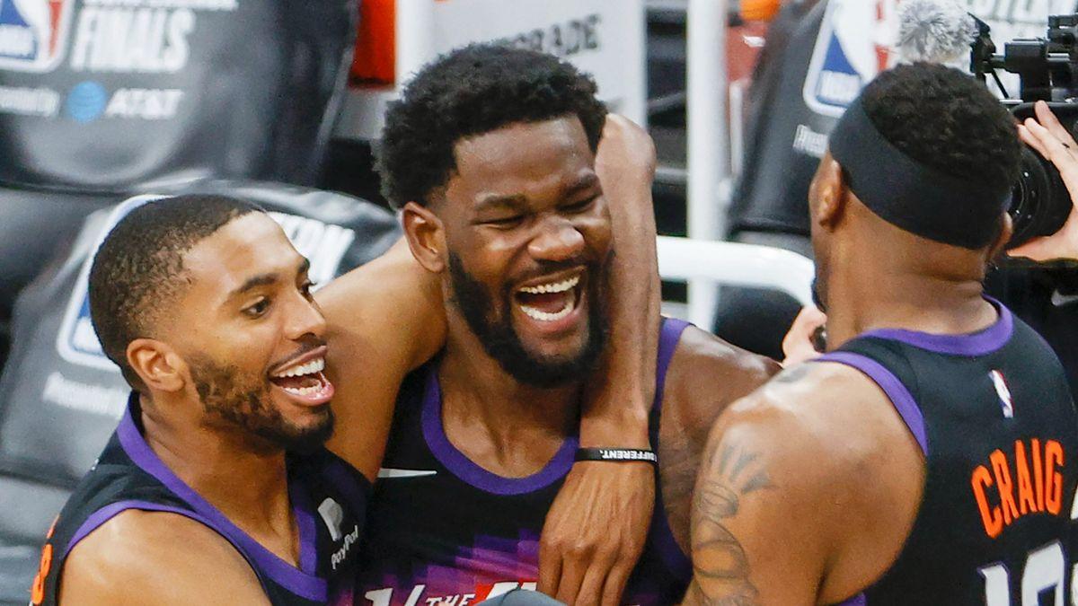 Os Suns derrotam os Clippers nos segundos finais do jogo